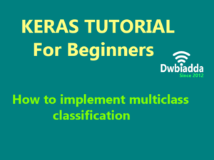 how to implement multiclass classification using keras