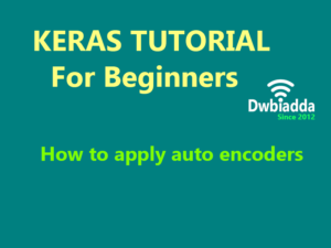 how to apply auto encoders using keras