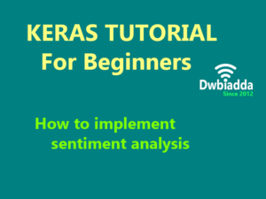 how to implement sentiment analysis using keras