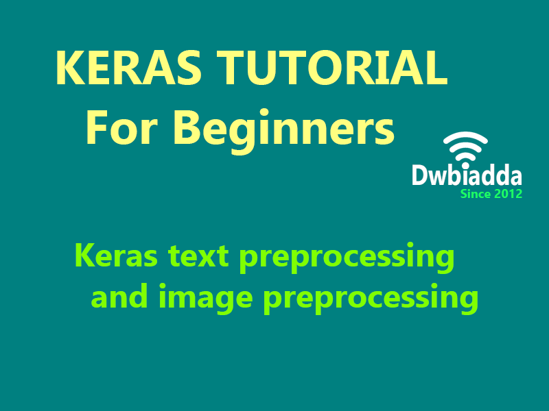 keras text preprocessing and image preprocessing