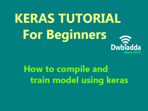 how to compile and train model using keras
